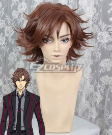 Double Decker! Douglas Doug Billingham Brown Cosplay Wig