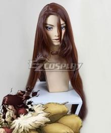 Dr.Stone Tsukasa Shishio Brown Cosplay Wig