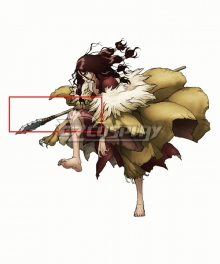 Dr.Stone Tsukasa Shishio Taiju Oki Spear Cosplay Weapon Prop