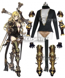 Drag On Dragoon 3 DOD3 Five Cosplay Costume