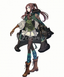 Drag On Dragoon 3 DOD3 Four Cosplay Costume