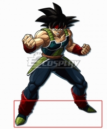 Dragon Ball FighterZ Bardock Deep Blue Shoes Cosplay Boots