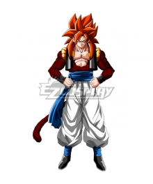 Dragon Ball GT Gogeta SSJ4 Cosplay Costume