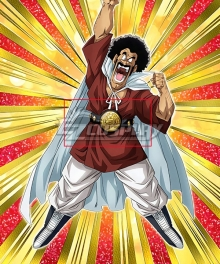 Dragon Ball Mr. Satan Hercule Satan Hercule Champion Belt Cosplay Accessory Prop