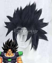 Dragon Ball Super: Broly Broly Black Cosplay Wig