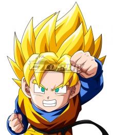Dragon Ball Super Son Goten Super Saiyan Golden Cosplay Wig