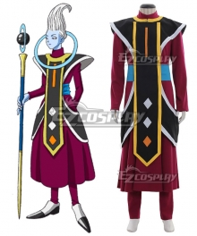 Dragon Ball Super Whis Cosplay Costume
