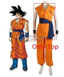 Dragon Ball Super Z Son Goku Kakarotto Cosplay Costume - Only Top