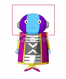 Dragon Ball Super Zeno Helmet Cosplay Accessory Prop
