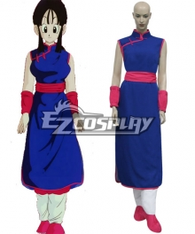 Dragon Ball Z Chi Chi Cosplay Costume - B Edition