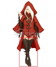 Dragon Nest Argenta Black Cosplay Boots