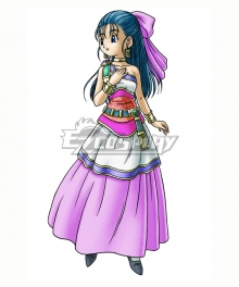 Dragon Quest V Hand of the Heavenly Bride Nera Cosplay Costume
