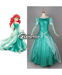 Disney Princess Ariel Cosplay Costume
