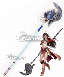 Dynasty Warriors 8 Xin Xianying Ji Cosplay Weapon Prop