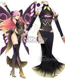 Vocaloid Megurine Luka Racing Ver. 2017 Cosplay Costume