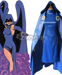 Smallville Heroine Raven Cosplay Costume