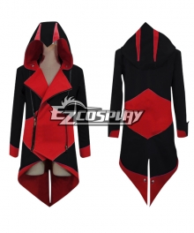 Assassin's Creed III Connor Red & Black Jacekt Cosplay Costume