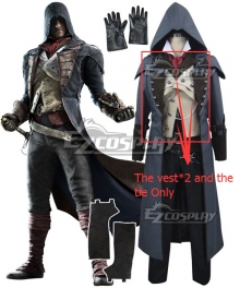 Assassin's Creed Unity Arno Victor Dorian Cosplay Costume - The vest*2 and Tie ONLY
