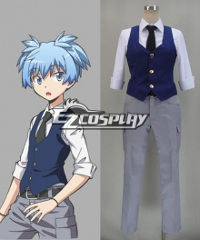 Assassination Classroom Shiota Nagisa Cosplay Costume