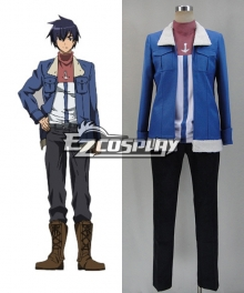 Akame Ga Kill! Wave Cosplay Costume - Shirt and Coat