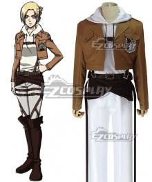 Attack on Titan Shingeki no Kyojin Annie Leonhart Scout Regiment Cosplay Costume
