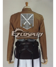 Attack on Titan Shingeki no Kyojin Cadet Corps Training Corps Eren Jaeger Cosplay Costume - Only Jacket