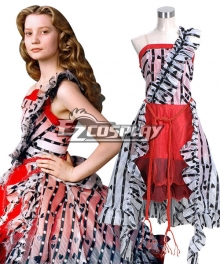 Alice in Wonderland Alice's Adventures in Wonderland Alice Kingsleigh Cosplay Costume