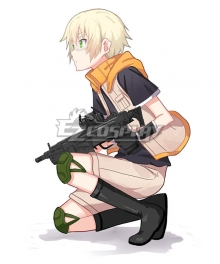 Aoharu x Machinegun Aoharu x Kikanjuu Hotaru Tachibana Toy ☆ Gun Gun Team Battle dress Cosplay Costume(Only Vest Gloves Shirt)