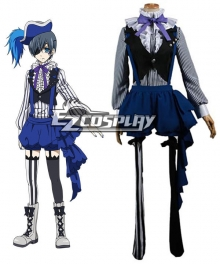 Black Butler Book of Circus Ciel Phantomhive Cosplay Costume