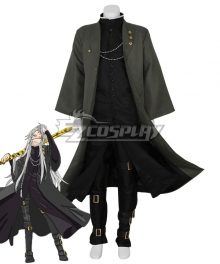 Black Butler Kuroshitsuji Movie: Book of the Atlantic Undertaker Cosplay Costume