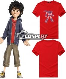 Hiro Cosplay Big Hero 6 Hiro Hamada Cosplay Costume - Red Shirt