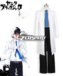 Burakku Jakku Young Black Jack aka Kuro Hazama Cosplay Costume