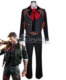 BioShock Booker DeWitt Cosplay Costume
