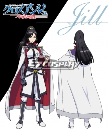Cross Ange Tenshi to Ryu no Rinbu Jill Cosplay Costume