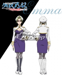 Cross Ange Tenshi to Ryu no Rinbu Emma Cosplay Costume
