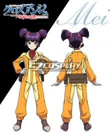 Cross Ange Tenshi to Ryu no Rinbu Mei Cosplay Costume