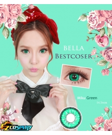Bella Eye Best Coser Vocaloid 2 Hatsune Miku Green Cosplay Contact Lense