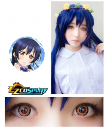 Bella Eye Coscon LoveLive! Love Live School Idol Project Umi Sonoda Orange Cosplay Contact Lense
