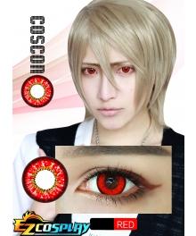 Bella Eye Coscon Sky Shana Shinn Asuka Nagisa Kaworu Kurapika Enma Ai Okita Sougo Lelouch Vi Britannia ZERO Red Cosplay Contact Lense