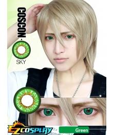 Bella Eye Coscon Sky Hitsugaya Toushirou Kinomoto Sakura Saber Haruno Sakura Gaara Gokudera Hayato Rokujou Miharu Green Cosplay Contact Lense