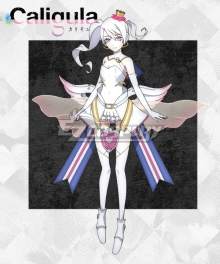 Caligula μ Mu Cosplay Costume