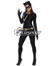 Catwoman Cosplay Costume from the 1966 tv show of Batman