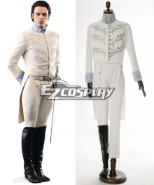 2015 Film Cinderella Prince Charming Kit Uniform Outfit Cosplay Costume