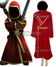 Magicka Wizard Wars Red Robe Cosplay Costume