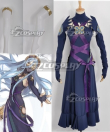 Fire Emblem If - Aqua Fanmade Dark Coloration Cosplay Costume