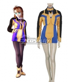 XenoSaga I Shion Uzuki Vector Uniform Cosplay Costume