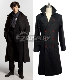 Sherlock The Abominable Bride Sherlock Holmes Cape Coat Cosplay Costume