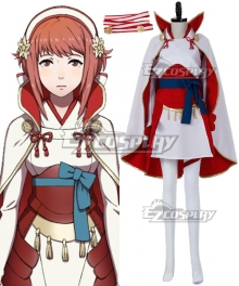 Fire Emblem Fates IF Sakura Cosplay Costume