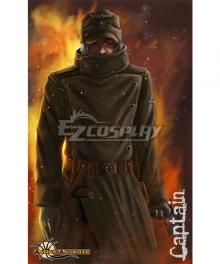 Hellsing Ova The Captain Cosplay Costume