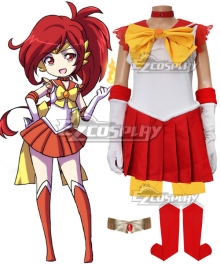Sailor Scout Flareon Cosplay Costume